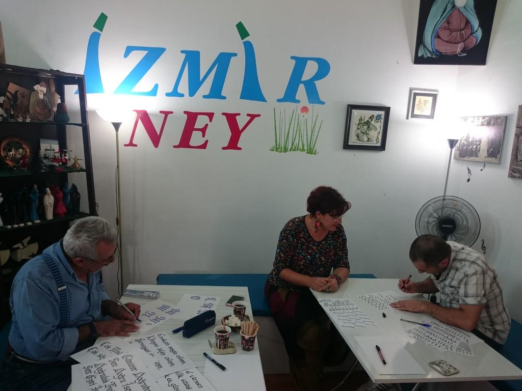 manisada kaligrafi kursu